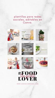 #FoodLover Template