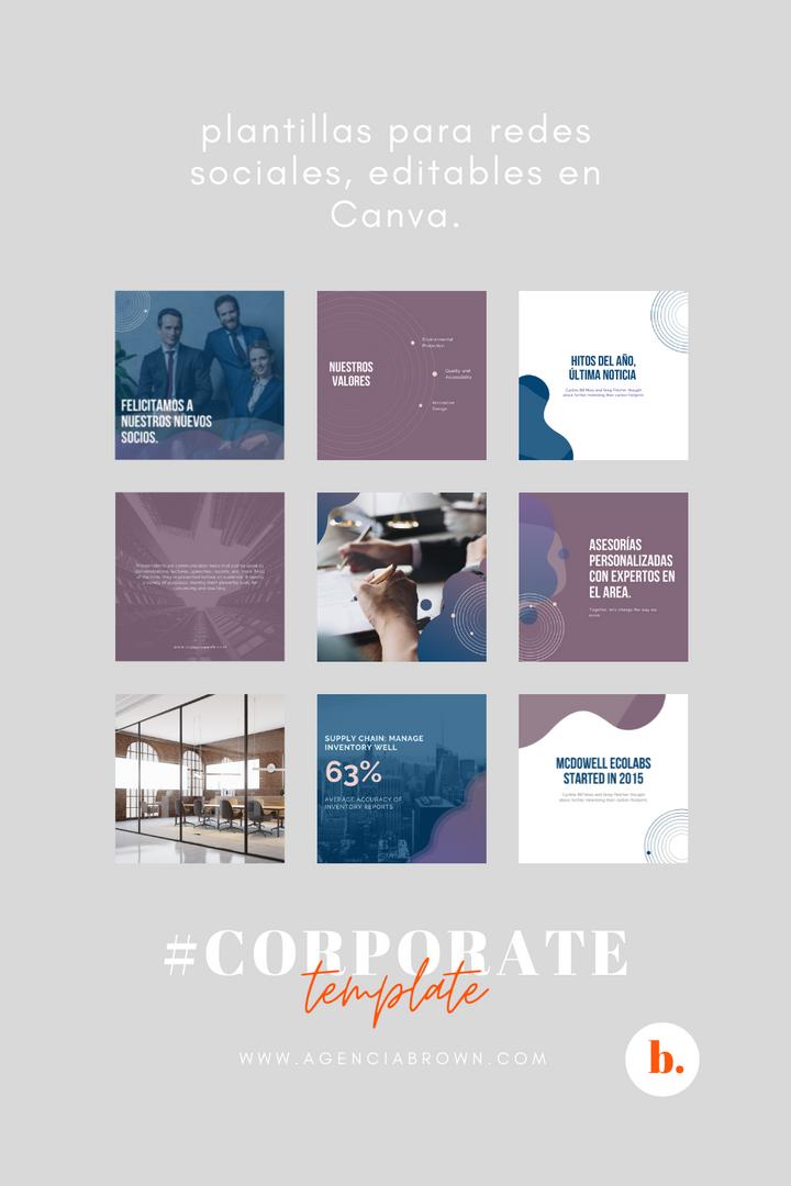 #Corporate Template
