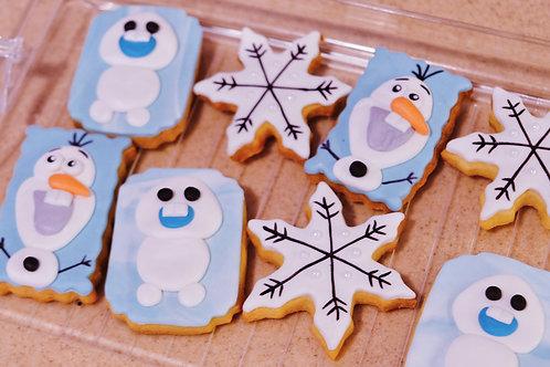 Olaf Frozen Cookies