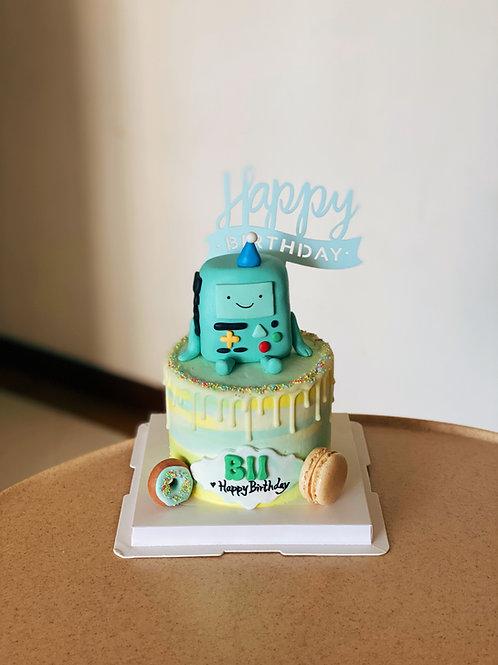 BII Fondant Cake