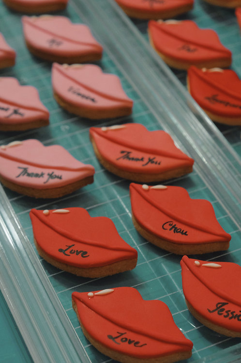 Lips Cookies