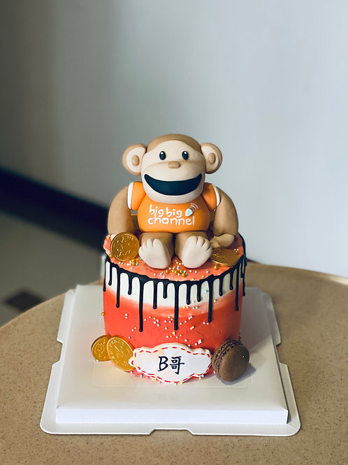 BigBig Channel Monkey Cake