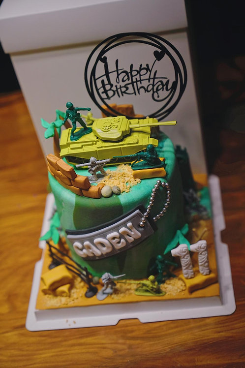 Soldiers Army Cake