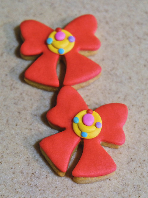 Sailormoon Ribbon Cookies