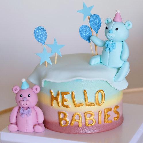 Hello Bear Babies - Buttercream Cake