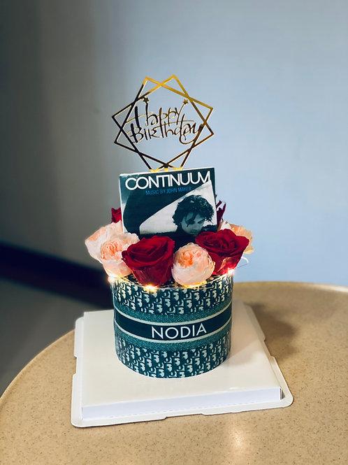 Dior Monogram Cake