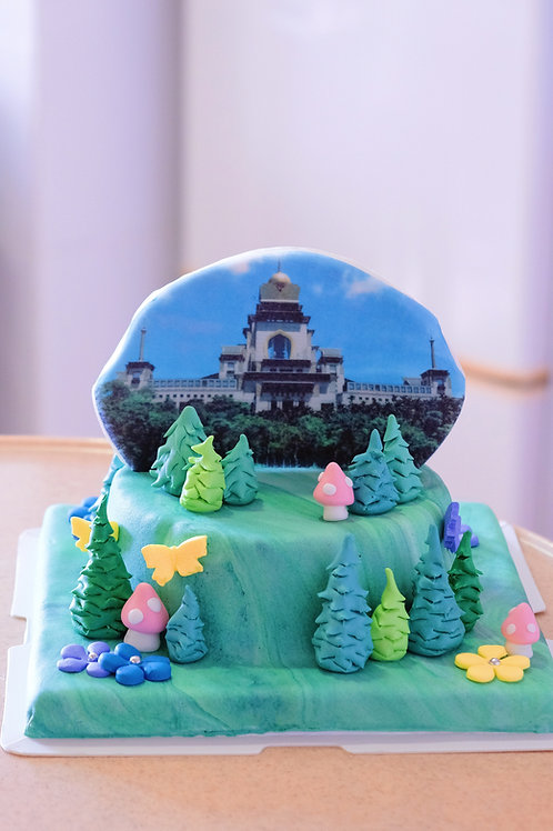 Temple Printing Cake