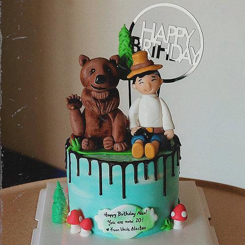 Boy and Bear Cake
