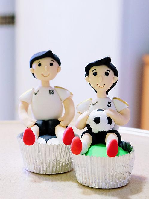 Soccer Boys Cupcakes