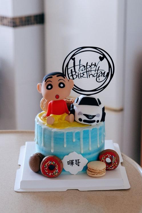 蠟筆小新 Birthday Cake