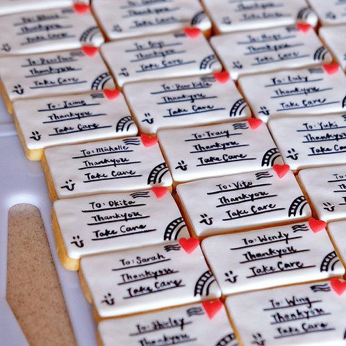 Letters Cookies