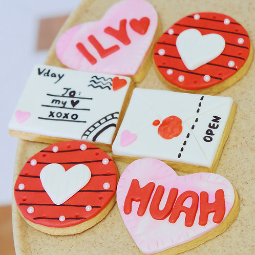 Love Letters Cookies