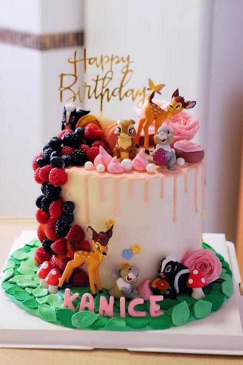 Bambi Cream Cake