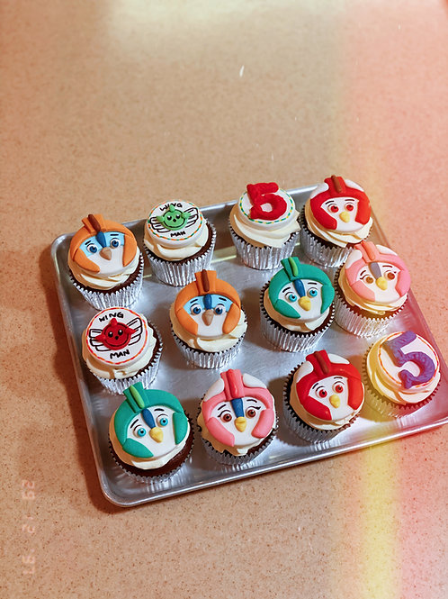Characters Cupcakes