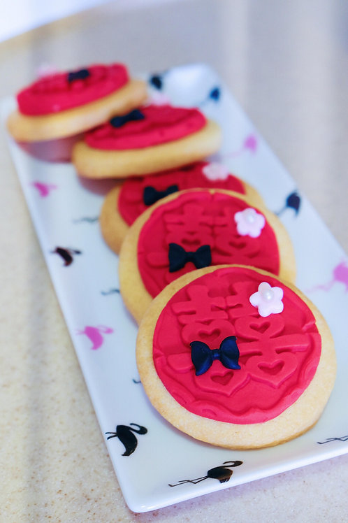 Wedding Fondant Cookies