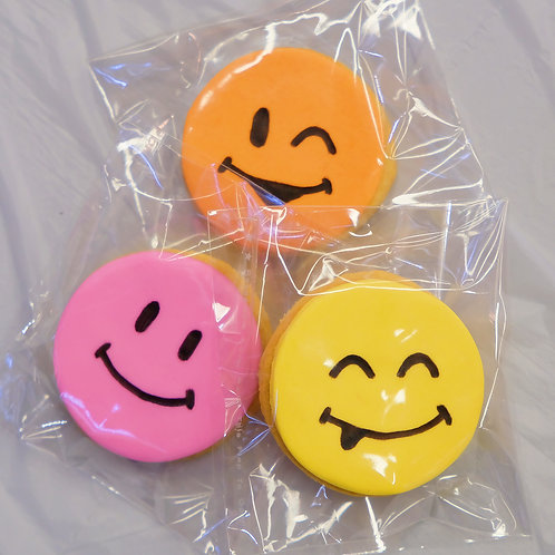 Smiley Faces Cookies
