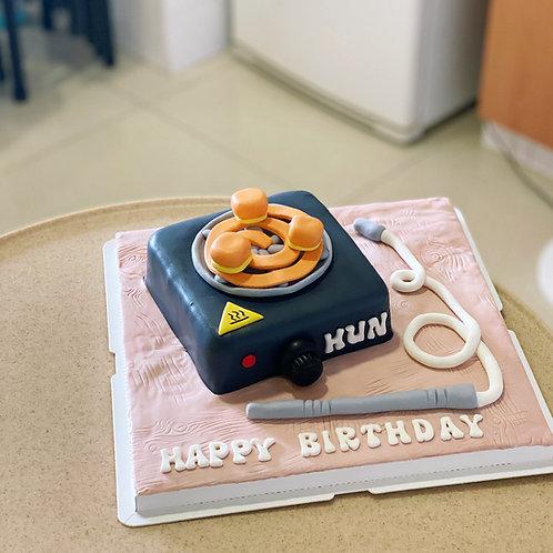 Coal Burner Cake