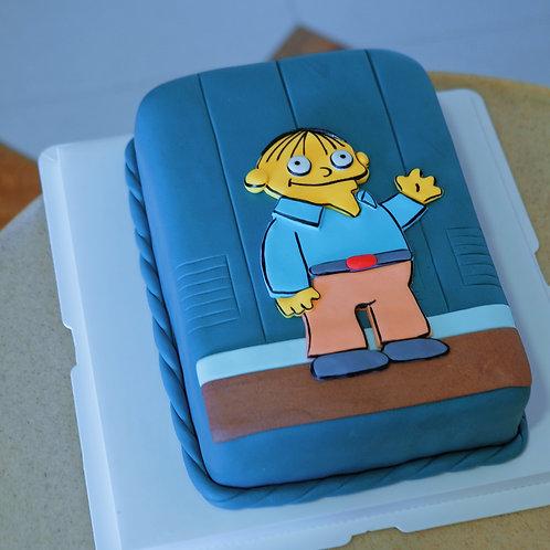 Simpson Fondant Cake
