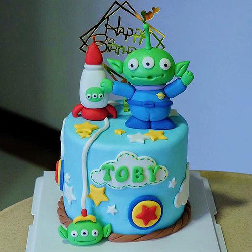 Pixar Birthday Cake