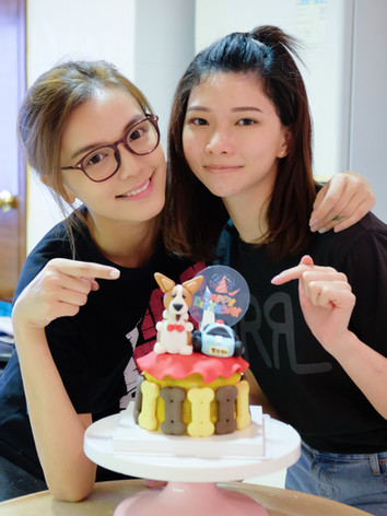 Doggie Cake Lesson Time with Kathy Chan