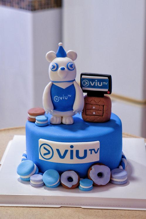 VIU soundbear Fondant Cake