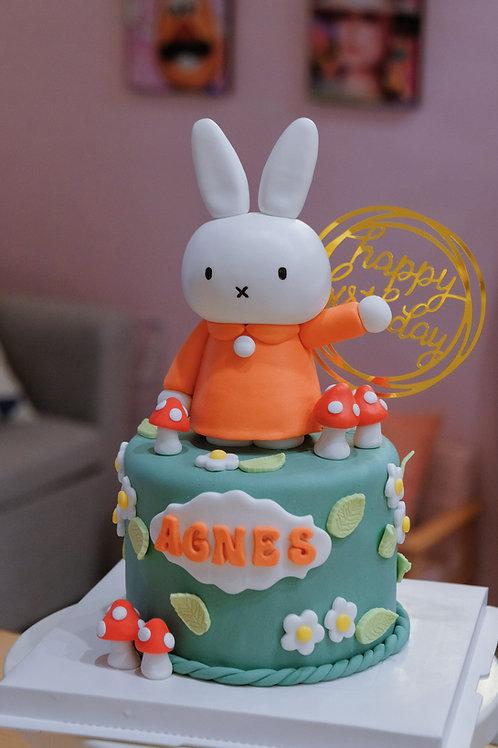 Miffy Fondant Cake
