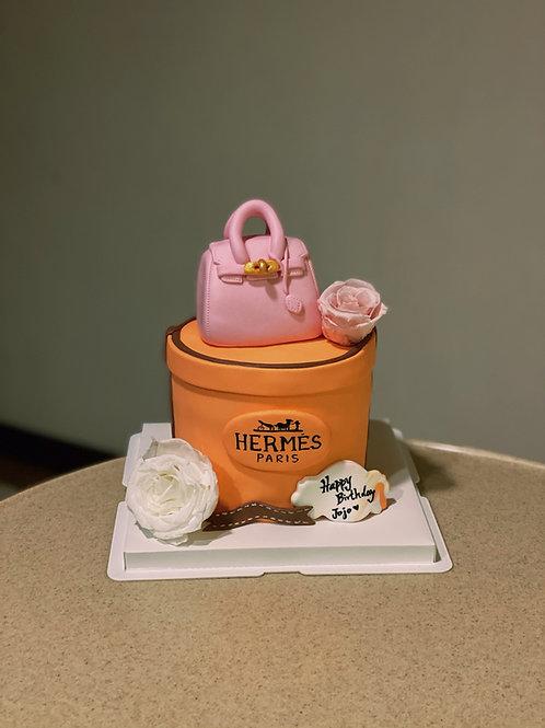 Hermes Handbag Cake