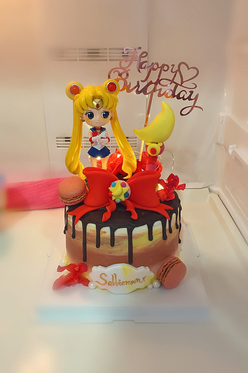 Sailor Moon Cream Cake