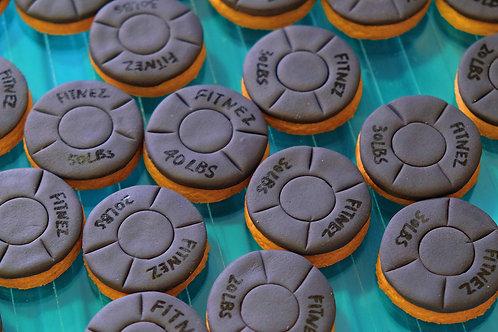 Dumbells Cookies