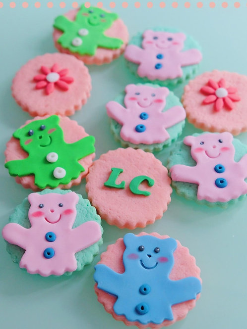 Colourful Bears Cookies