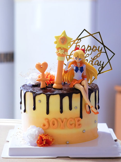 The Sailor Venus Cake
