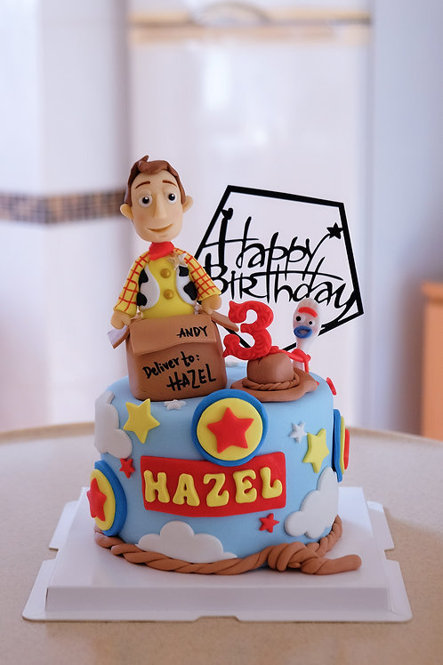 Woody & Forky Cake