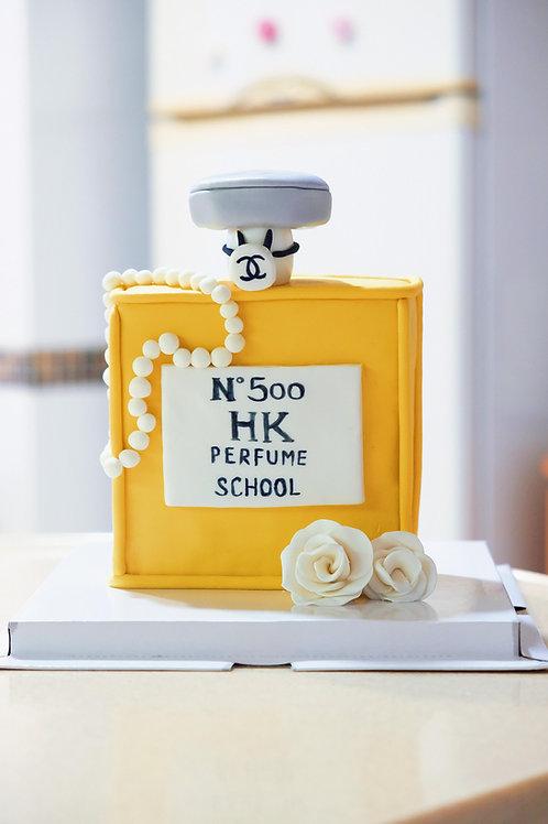 Chanel NO.5 Fondant Cake