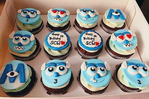 Momo Monster Inc Cupcakes