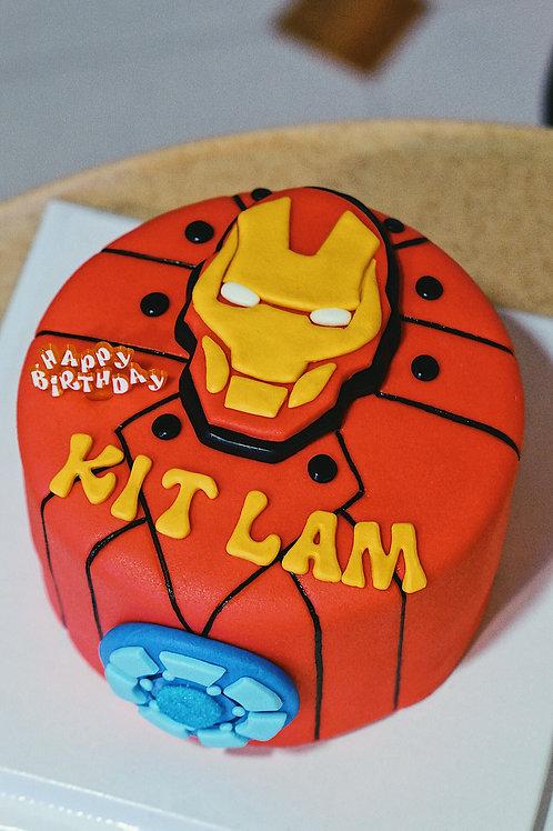 IronMan Choco Cake
