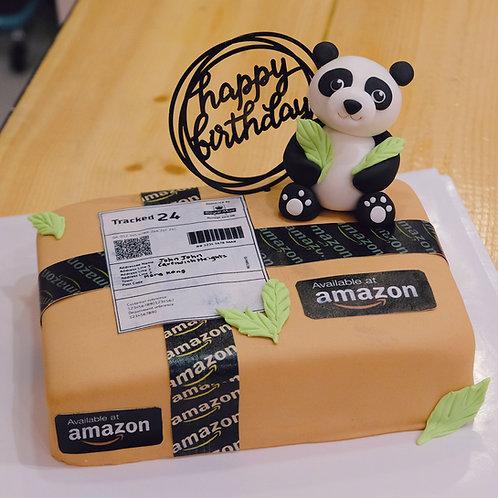 Panda Amazon Parcel Cake