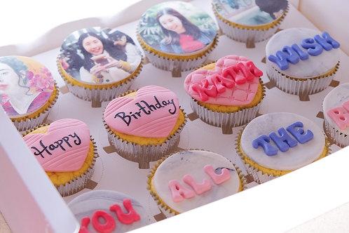 Photos Printing Cupcakes