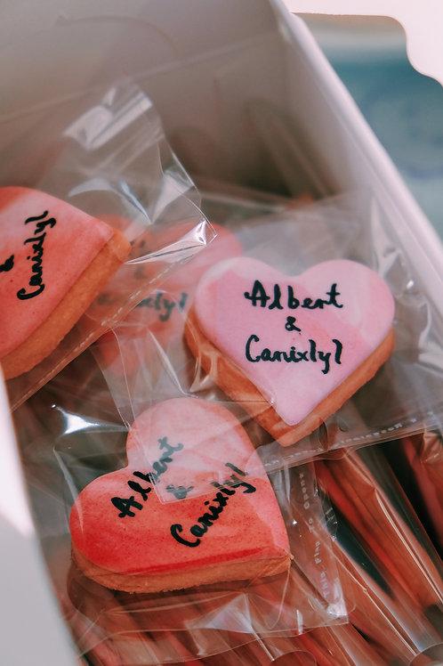 Marble Pink Cookies