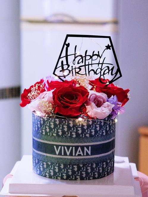 Dior Floral Cake