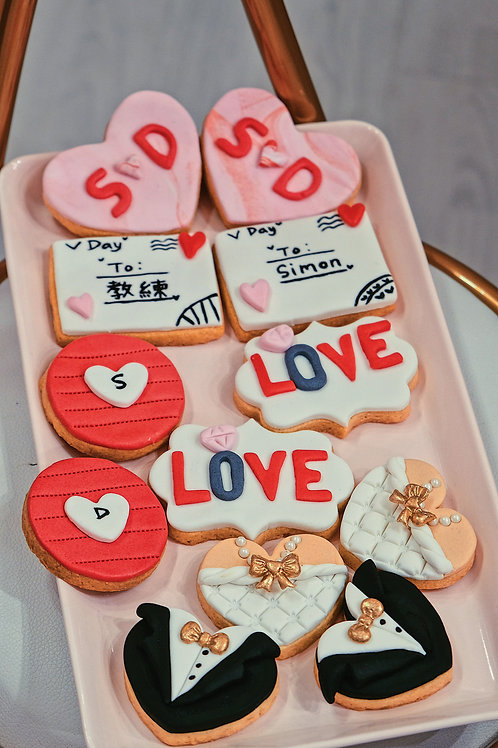 Love themed Cookies