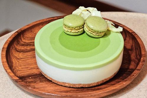 Greentea Mousse Cheesecake