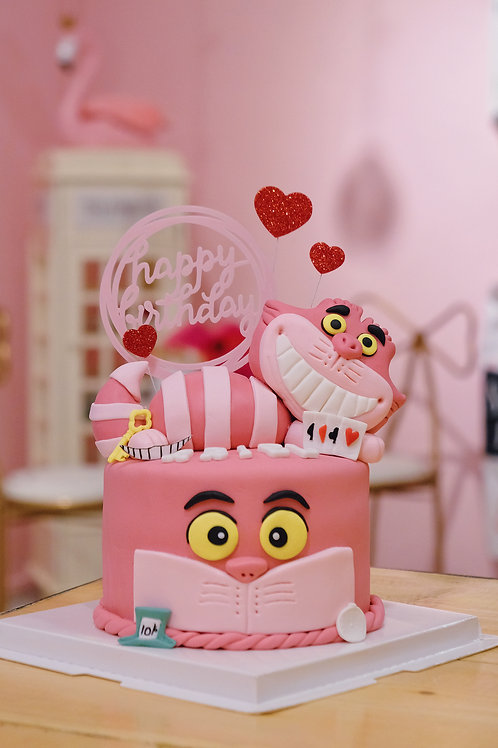 妙妙貓 Fondant Cake