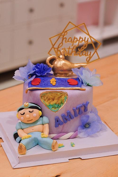 Jamine Princess Fondant Cake