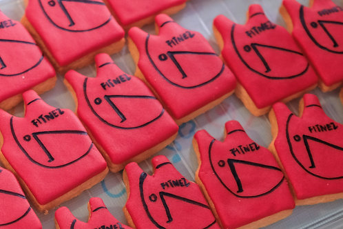 Sport Vests Cookies