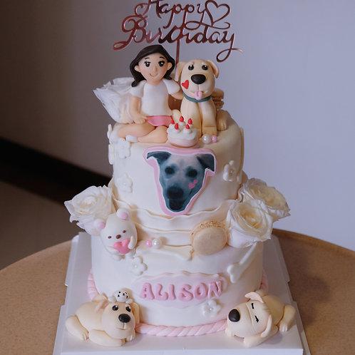 Customized theme Cake