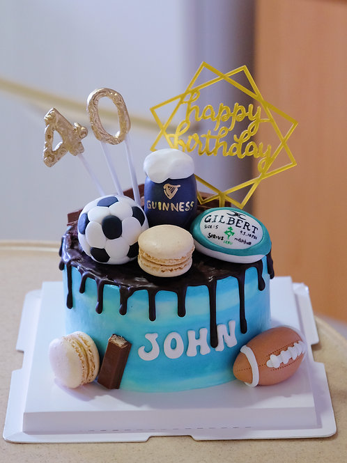 Ball Games Cream Cake