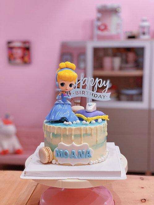Cinderella Cream Cake