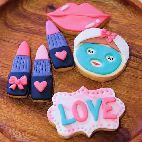 Facial & Lipsticks Cookies