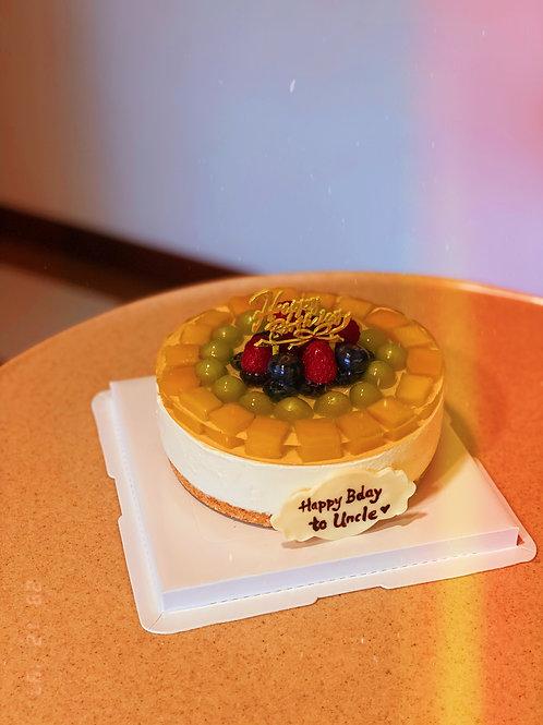 Fruits Cheesecake