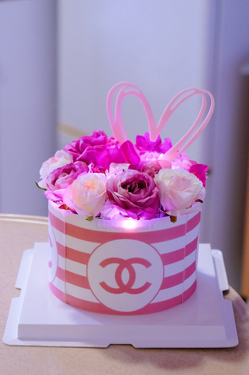 Chanel Floral Cake